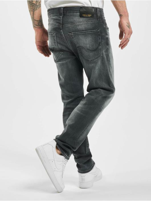 Jack & Jones Slim Fit Jeans jjiTim jjiCon jj 171 Noos black