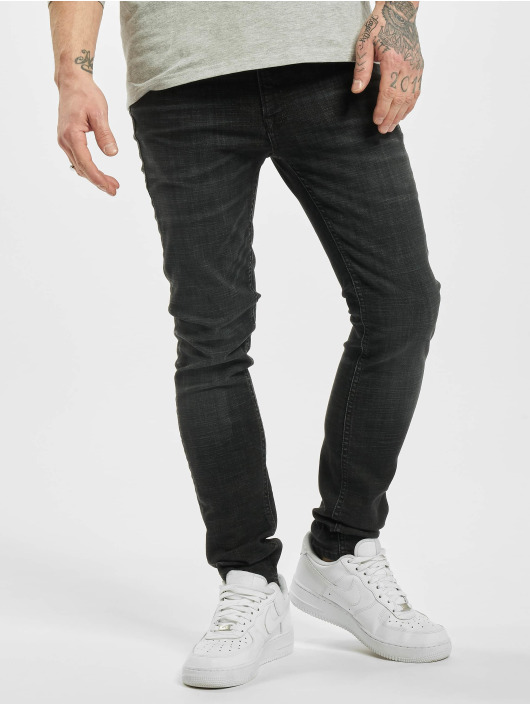 Jack & Jones Slim Fit Jeans jjiLiam jjOriginal jj 179 50sps Lid STS black