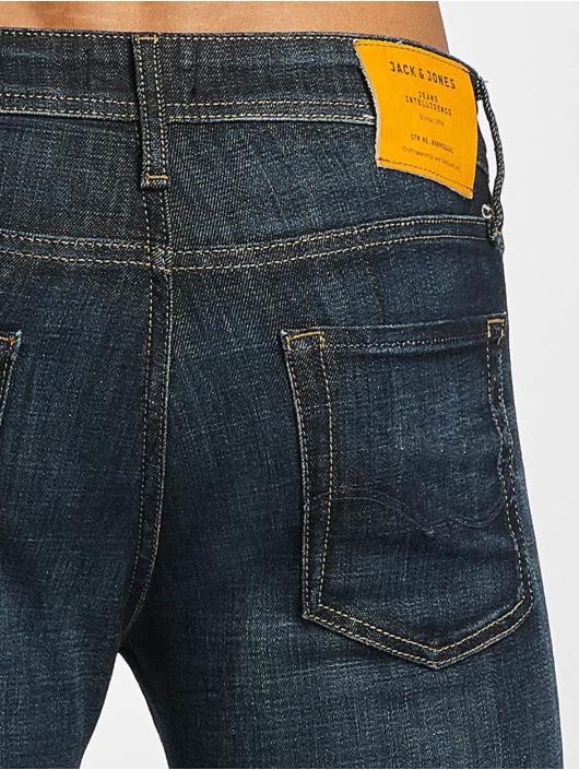 Jack & Jones Slim Fit Jeans jjGlenn Original JJ 022 blau