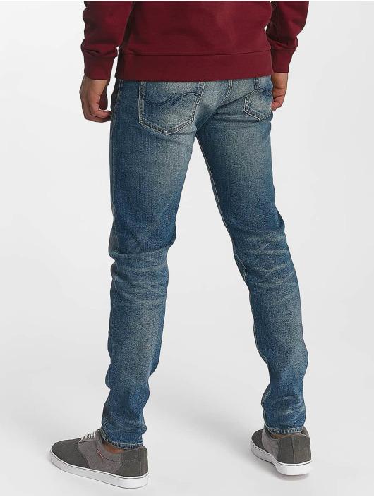 Jack & Jones Slim Fit Jeans jjiFred jjOriginal blau