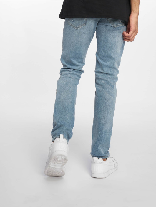 Jack & Jones Slim Fit Jeans Jjiglenn Jjcharlie Am 75 blau