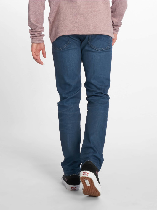 Jack & Jones Slim Fit Jeans jjiTim jjOriginal blau