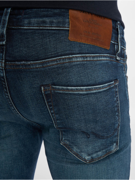 Jack & Jones Slim Fit Jeans jjiGlenn jjIcon Noos blau