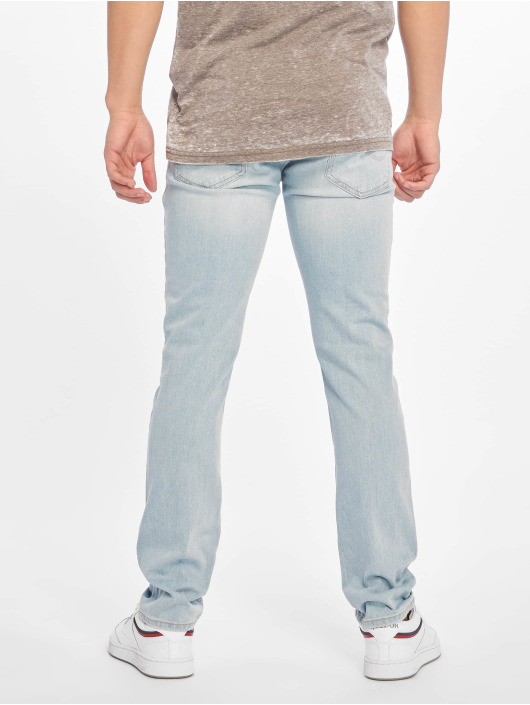 Jack & Jones Slim Fit Jeans jjiGlenn jjOriginal Am 916 blau