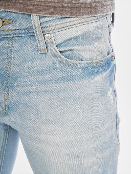 Jack & Jones Slim Fit Jeans jjiGlenn jjOriginal Am 916 blau