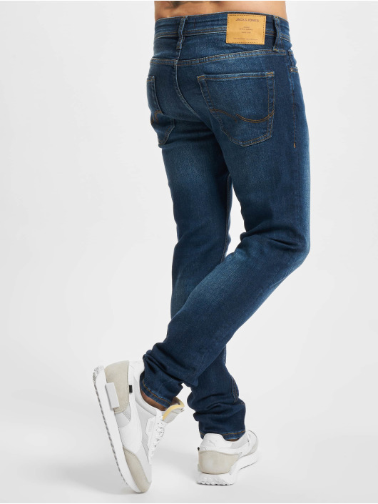 Jack & Jones Slim Fit Jeans Jjiglenn Jjoriginal blau