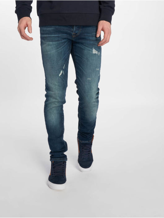 Jack & Jones Slim Fit Jeans jjiGlenn jjIcon Noos blauw