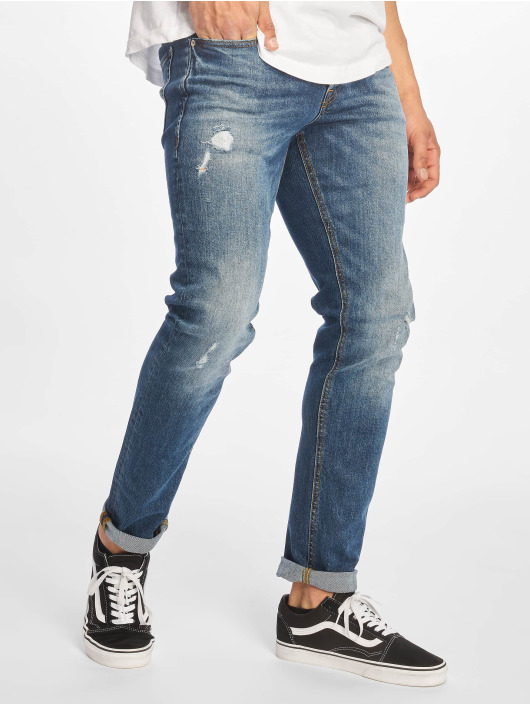 Jack & Jones Slim Fit Jeans jjiGlenn jjOriginal blauw