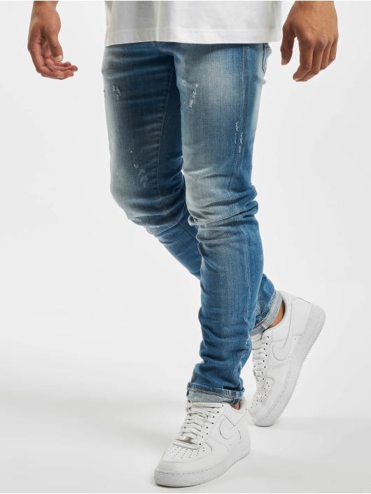 Jack & Jones Slim Fit Jeans jjiGlenn Jjfox blauw