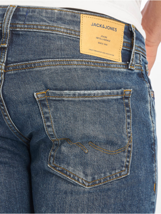 Jack & Jones Slim Fit Jeans jjiGlenn jjOriginal blu