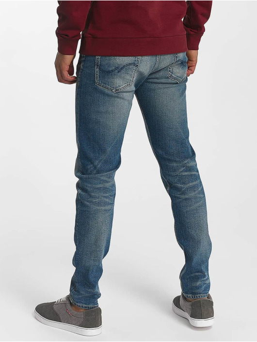 Jack & Jones Slim Fit Jeans jjiFred jjOriginal blue