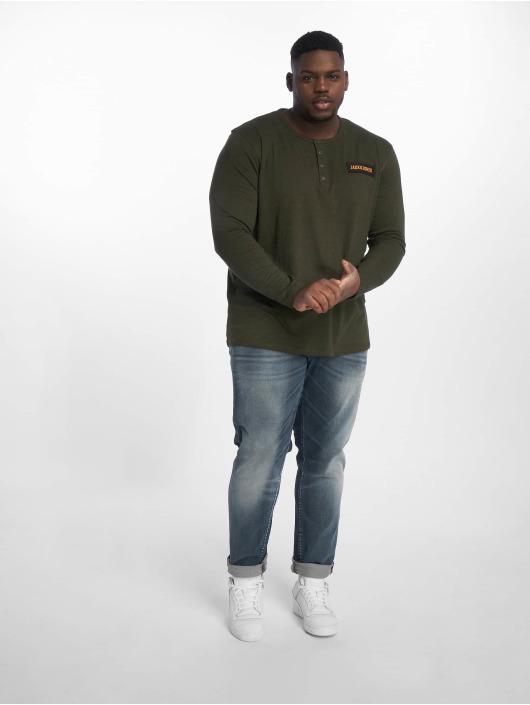 Jack & Jones Slim Fit Jeans Jjiglenn Jjfox Bl 819 Ps blue