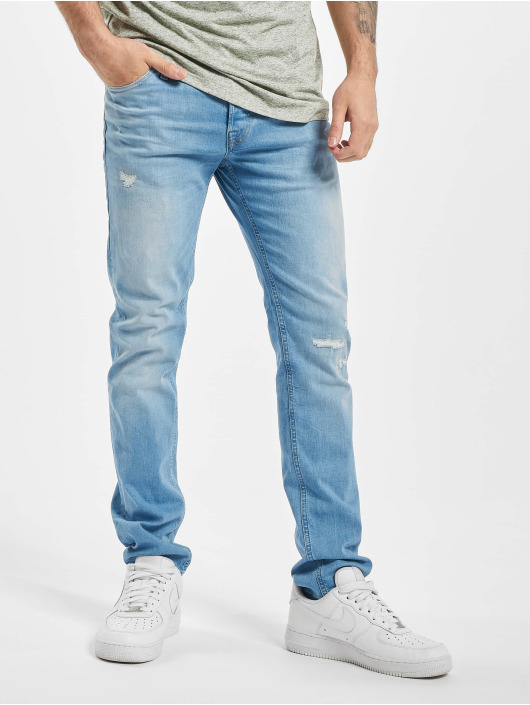 Jack & Jones Slim Fit Jeans jjiGlenn jjOrg JOS 588 50SPS Lid STS blue