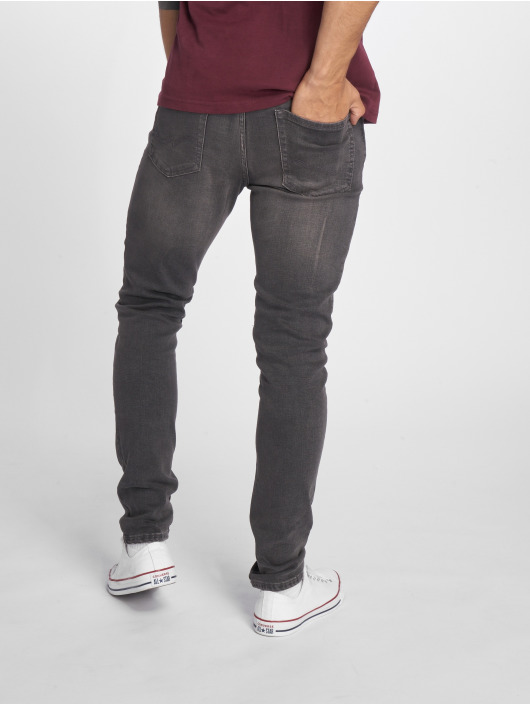 Jack & Jones Slim Fit Jeans jjiGlenn jjOriginal NZ 007 grå