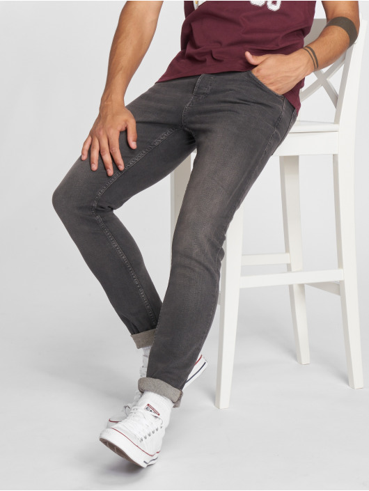 Jack & Jones Slim Fit Jeans jjiGlenn jjOriginal NZ 007 grau
