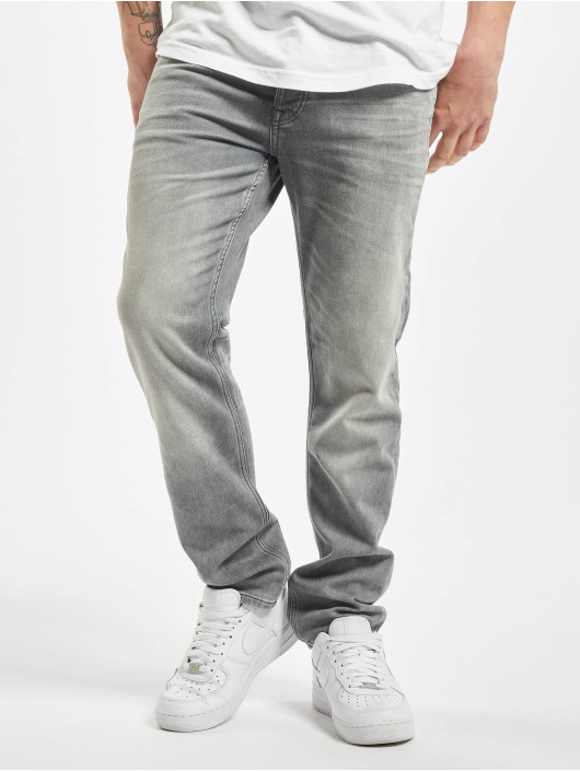 Jack & Jones Slim Fit Jeans jjiTim jjLeon GE 067 grau