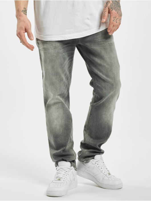 Jack & Jones Slim Fit Jeans jjiClark jjOriginal JOS 183 Noos grau