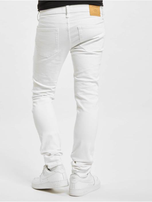 Jack & Jones Slim Fit Jeans JJ I Liam JJ Original NA 405 hvit