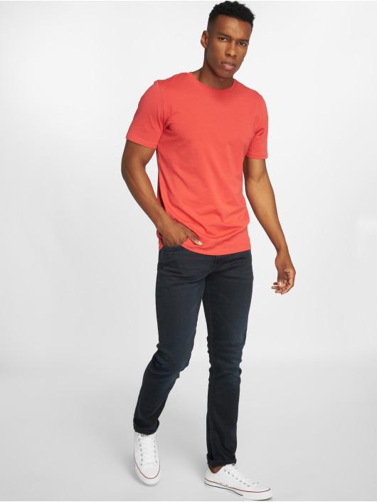 Jack & Jones Slim Fit Jeans jjGlenn Felix AM 458 modrá