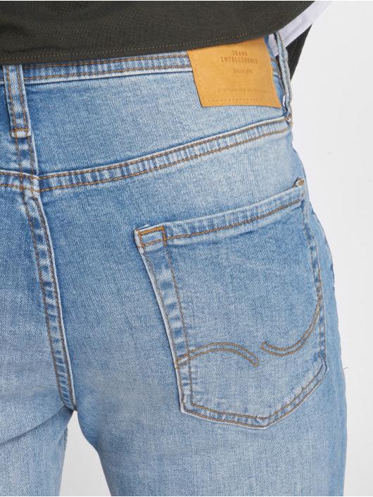 Jack & Jones Slim Fit Jeans jiGlenn jjOriginal NZ003 modrá