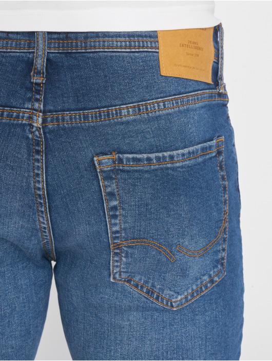 Jack & Jones Slim Fit Jeans jiGlenn jjOriginal NZ 005 modrá