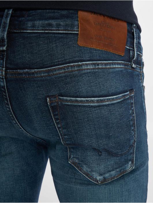 Jack & Jones Slim Fit Jeans jjiGlenn jjIcon Noos modrá