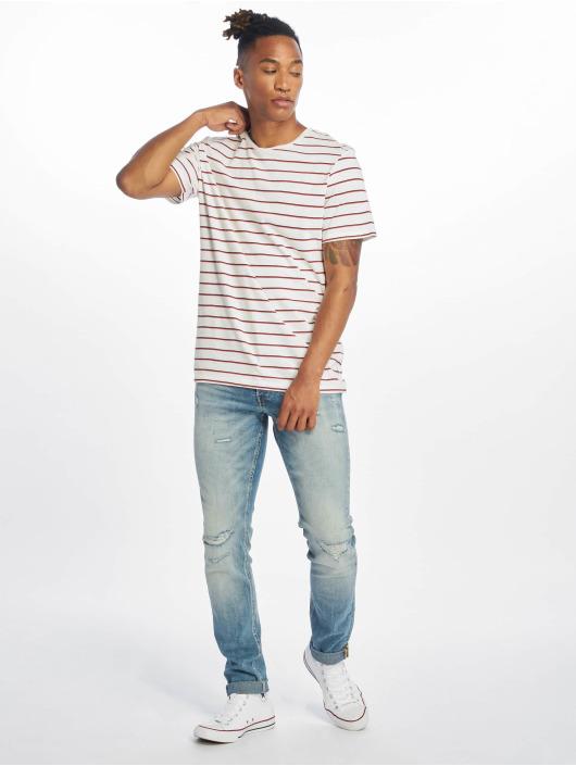 Jack & Jones Slim Fit Jeans jjiGlenn jjOriginal modrá
