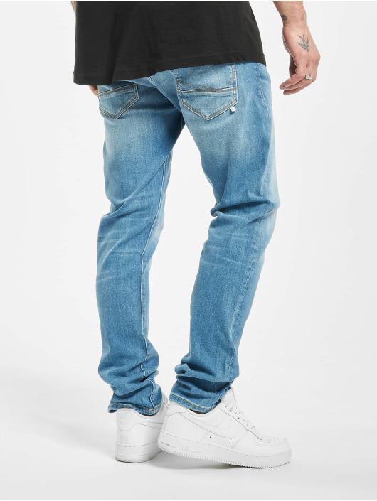 Jack & Jones Slim Fit Jeans jjiGlenn Jjfox modrá