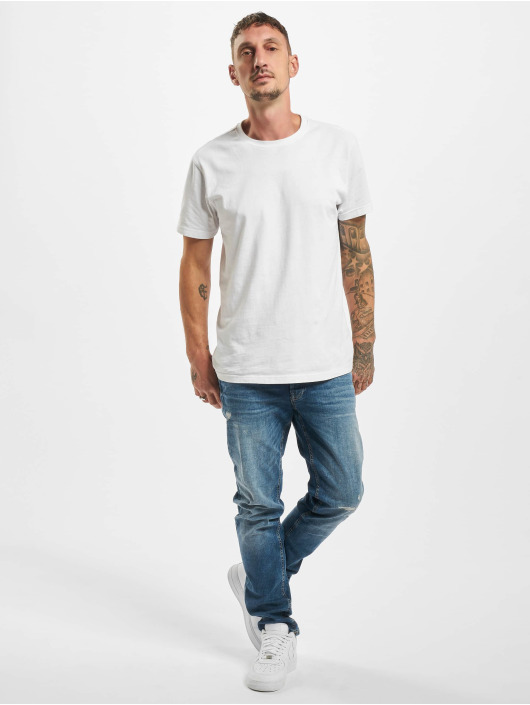 Jack & Jones Slim Fit Jeans jiGlenn Jjorg modrá