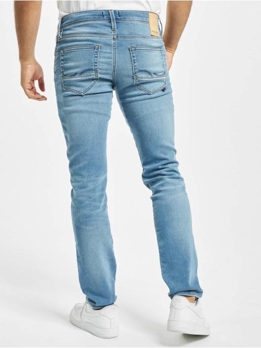Jack & Jones Slim Fit Jeans jjiGlenn jjFox JJ 241 I.K modrá
