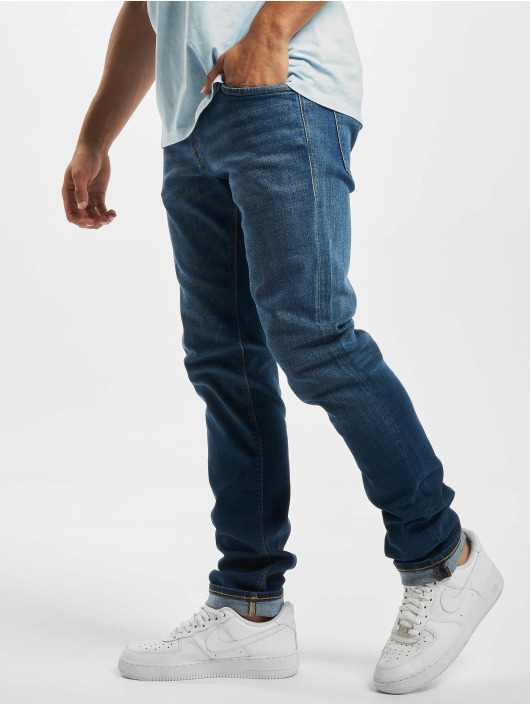 Jack & Jones Slim Fit Jeans jjiTim jjOriginal Jos 919 Noos modrá