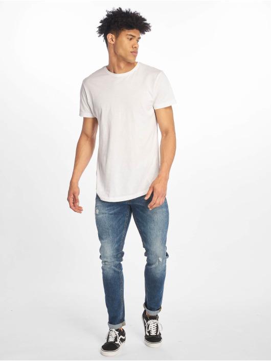 Jack & Jones Slim Fit Jeans jjiGlenn jjOriginal modrý
