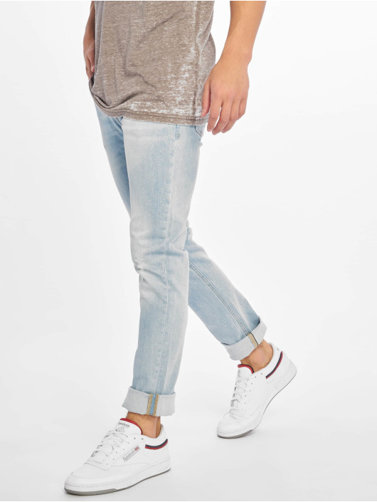 Jack & Jones Slim Fit Jeans jjiGlenn jjOriginal Am 916 modrý