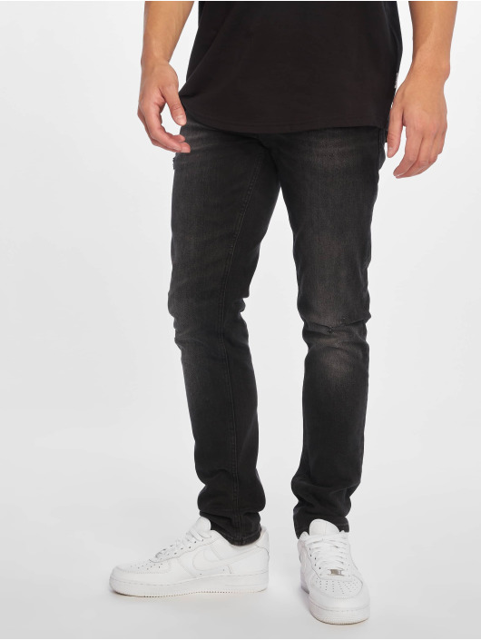 Jack & Jones Slim Fit Jeans jjiGlenn jjOriginal nero