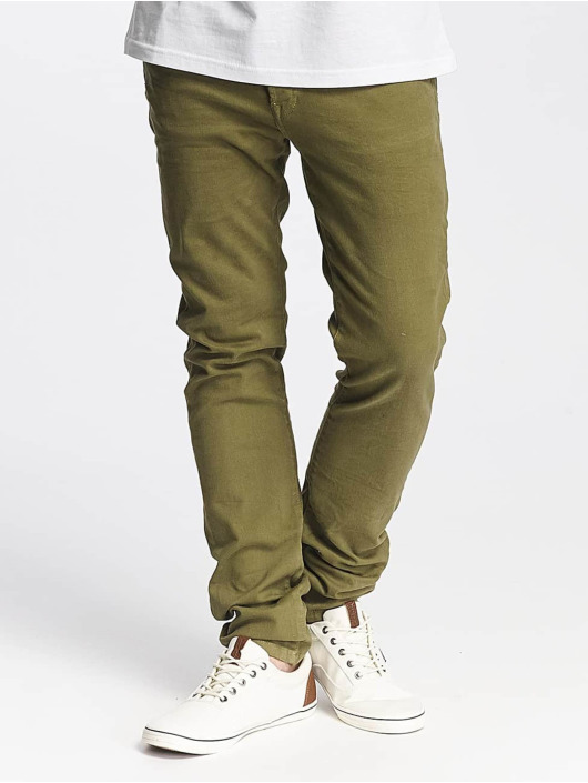 Jack & Jones Slim Fit Jeans jjGlenn Fox AKM 360 olive