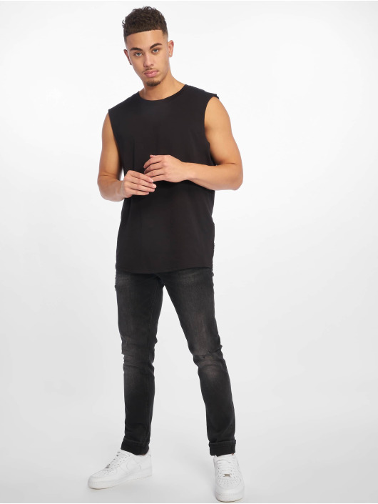Jack & Jones Slim Fit Jeans jjiGlenn jjOriginal schwarz