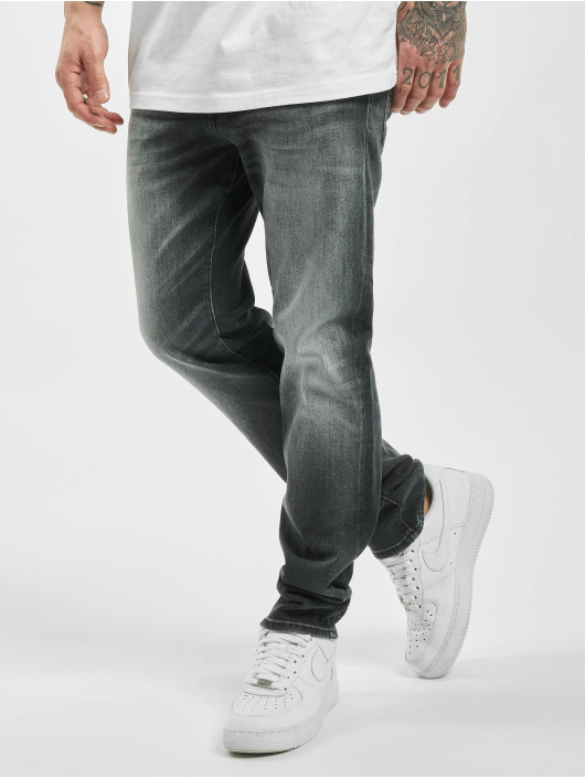 Jack & Jones Slim Fit Jeans jjiTim jjiCon jj 171 Noos schwarz