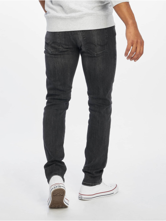 Jack & Jones Slim Fit Jeans jjiGlenn jjOriginal AM 817 NOOS sort