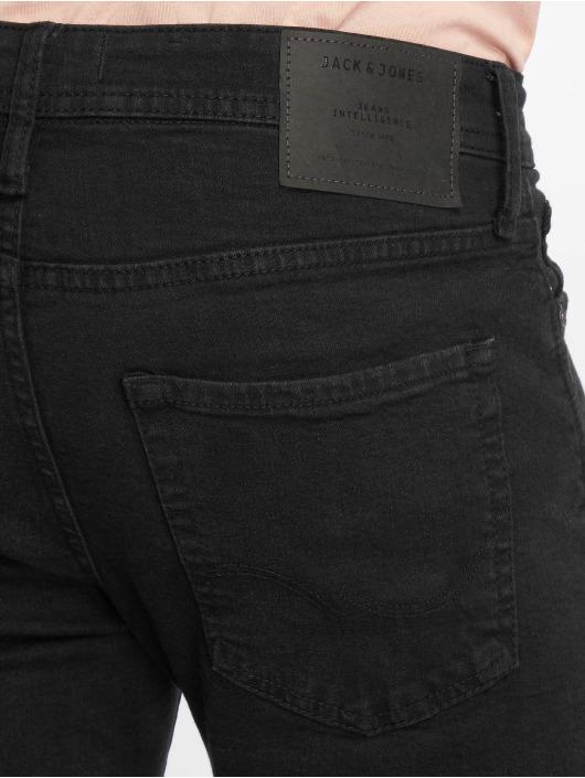 Jack & Jones Slim Fit Jeans jjiGlenn svart