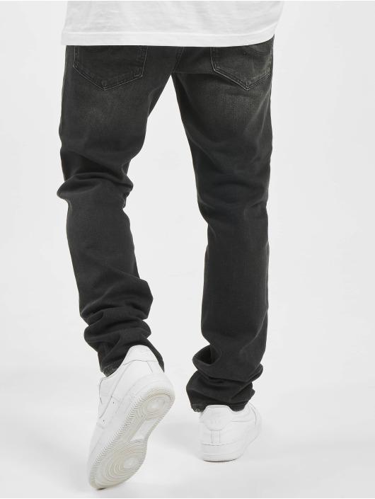 Jack & Jones Slim Fit Jeans jjiGlenn jjIcon AM 927 ESP svart