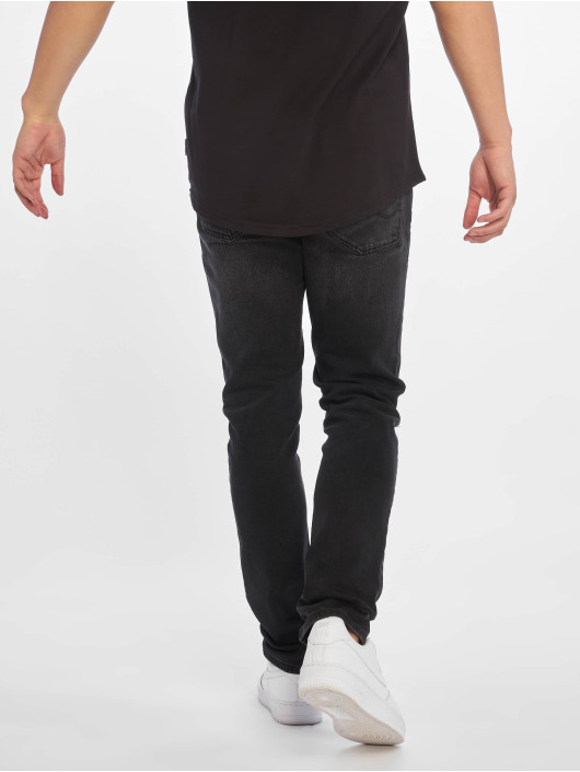 Jack & Jones Slim Fit Jeans jjiGlenn jjOriginal zwart