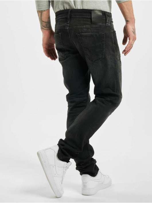 Jack & Jones Slim Fit Jeans jjiGlenn jjiCon JOS 141 50sps STS zwart