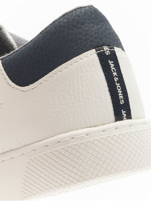 Jack & Jones Sneakers JfwTed PU Mix bialy