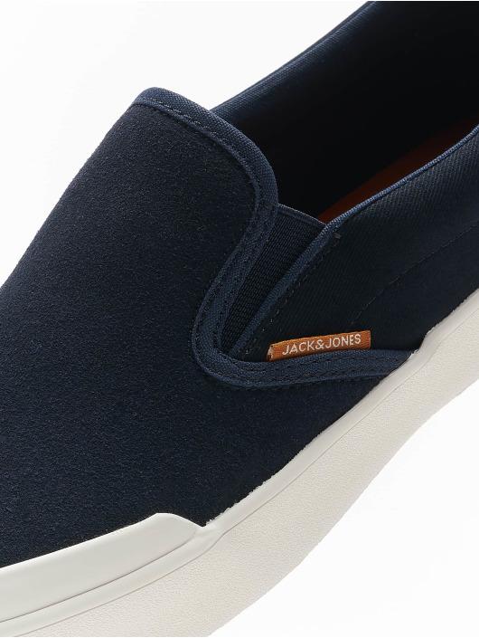 Jack & Jones Sneakers jfwOrson Syn Suede Combo niebieski
