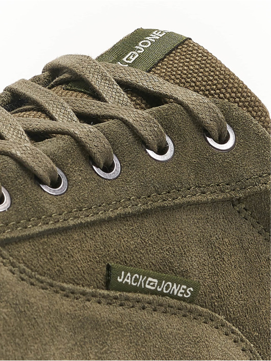 Jack & Jones Sneakers JfwVision Suede STS oliwkowy