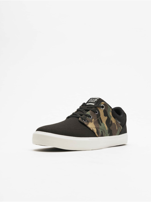 Jack & Jones Sneakers JfwBarton Camo Anthracite svart