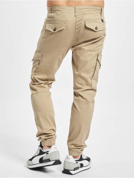 Jack & Jones Spodnie Chino/Cargo Jjipaul Jjflake AKM 542 Crockery brazowy