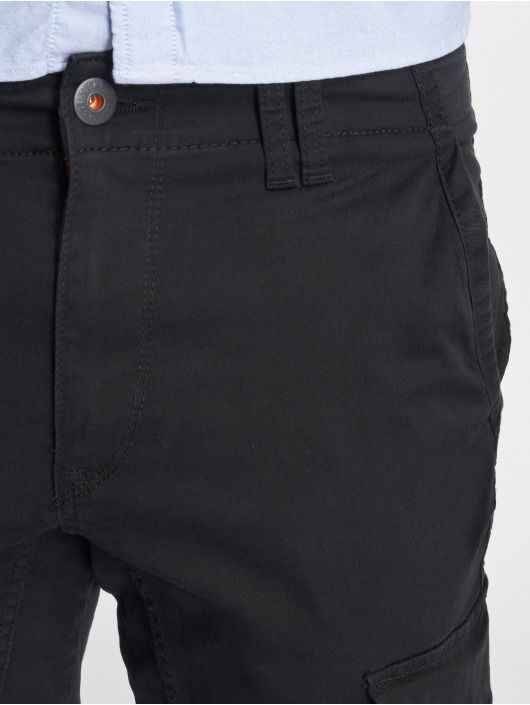 Jack & Jones Spodnie Chino/Cargo Jjipaul Jjflake Akm 542 czarny
