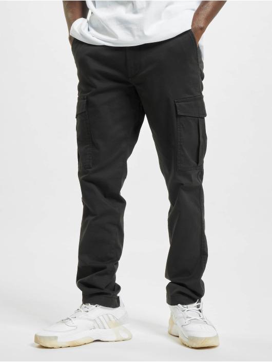 Jack & Jones Spodnie Chino/Cargo jjiMarco jjJoe AKM czarny