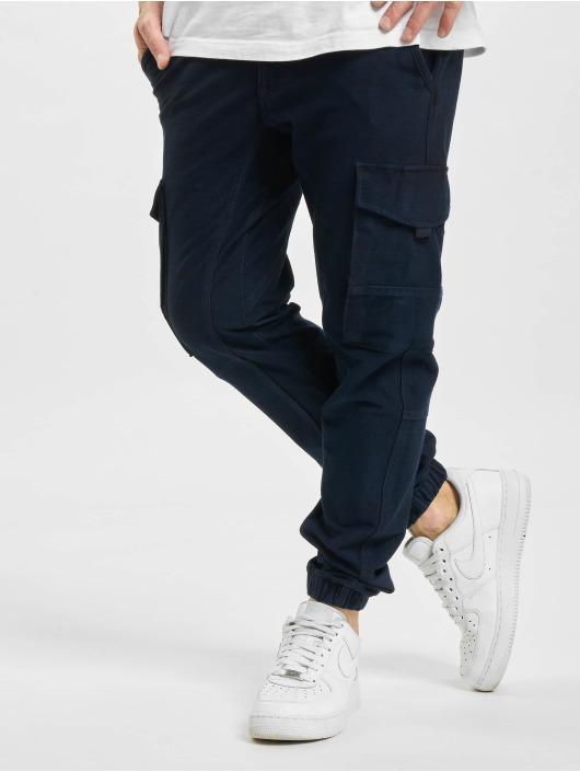 Jack & Jones Spodnie Chino/Cargo jjiPaul jjFlake Akm 256 niebieski